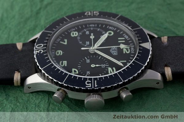 Used luxury watch Tag Heuer * chronograph steel manual winding Kal. Valj. 230 Ref. 1550SG VINTAGE  | 161339 05