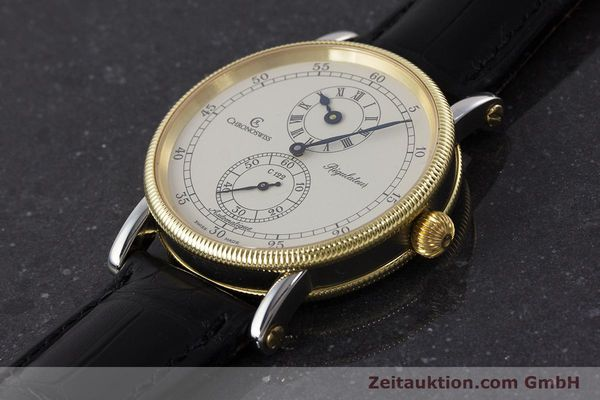 Used luxury watch Chronoswiss Regulateur steel / gold automatic Kal. 122 Ref. CH1222  | 161344 01