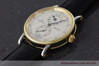 CHRONOSWISS REGULATEUR EDELSTAHL / GOLD AUTOMATIK CH1222 GLASBODEN VP: 5200,- Euro [161344]