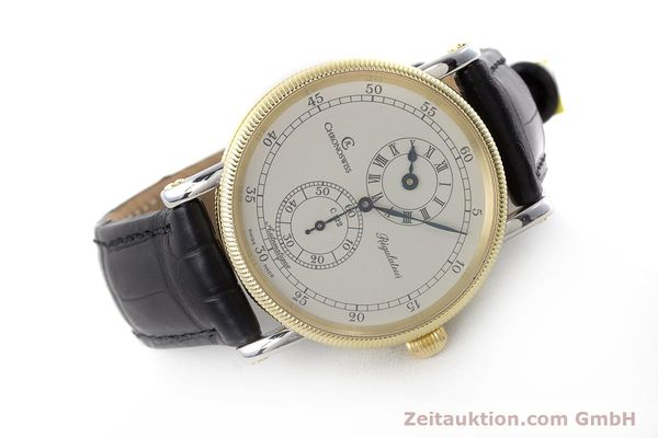 Used luxury watch Chronoswiss Regulateur steel / gold automatic Kal. 122 Ref. CH1222  | 161344 03