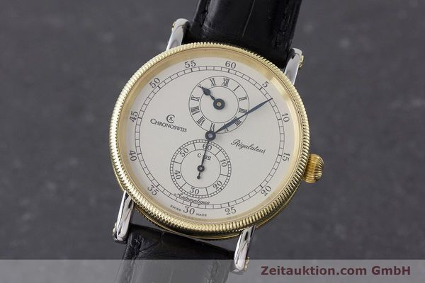 CHRONOSWISS REGULATEUR ACIER / OR AUTOMATIQUE KAL. 122 LP: 5200EUR [161344]