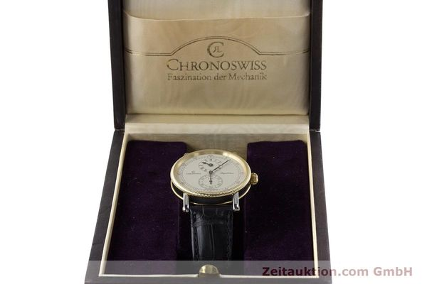 Used luxury watch Chronoswiss Regulateur steel / gold automatic Kal. 122 Ref. CH1222  | 161344 07
