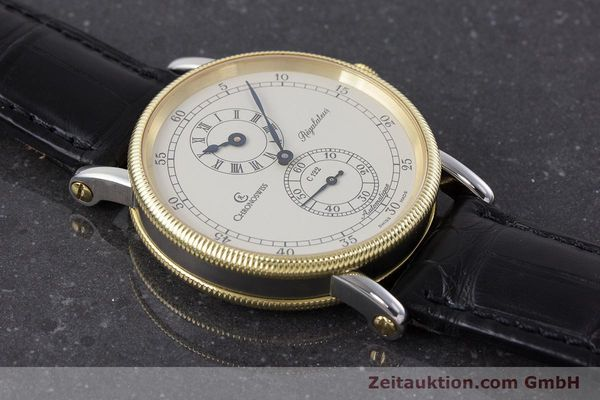 Used luxury watch Chronoswiss Regulateur steel / gold automatic Kal. 122 Ref. CH1222  | 161344 15