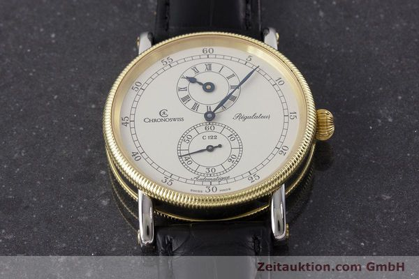 Used luxury watch Chronoswiss Regulateur steel / gold automatic Kal. 122 Ref. CH1222  | 161344 16