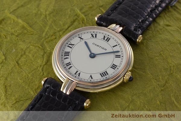 Used luxury watch Cartier * 18 ct gold quartz Kal. 81  | 161345 01