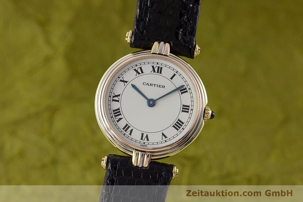 Used luxury watch Cartier * 18 ct gold quartz Kal. 81  | 161345 04