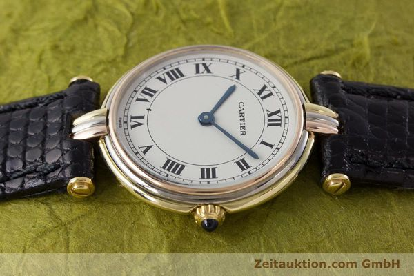 Used luxury watch Cartier * 18 ct gold quartz Kal. 81  | 161345 05