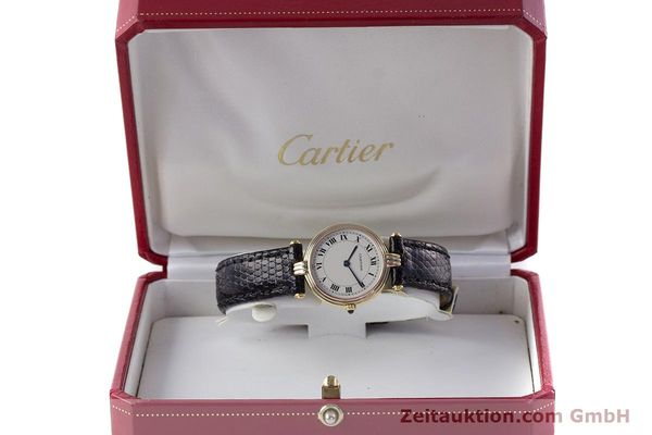 Used luxury watch Cartier * 18 ct gold quartz Kal. 81  | 161345 07