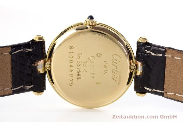 Used luxury watch Cartier * 18 ct gold quartz Kal. 81  | 161345 09