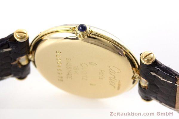 Used luxury watch Cartier * 18 ct gold quartz Kal. 81  | 161345 10
