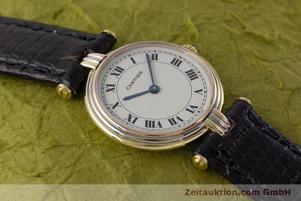 Used luxury watch Cartier * 18 ct gold quartz Kal. 81  | 161345 12