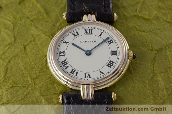 Used luxury watch Cartier * 18 ct gold quartz Kal. 81  | 161345 13