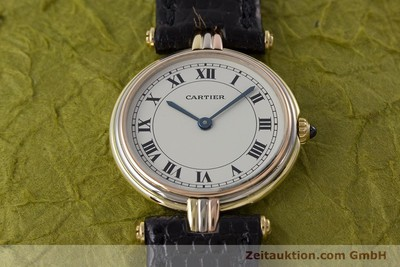 CARTIER 18 CT GOLD QUARTZ KAL. 81 [161345]