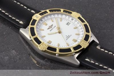 BREITLING J-CLASS ACIER / OR AUTOMATIQUE KAL. ETA 2892-2 LP: 3340EUR [161350]