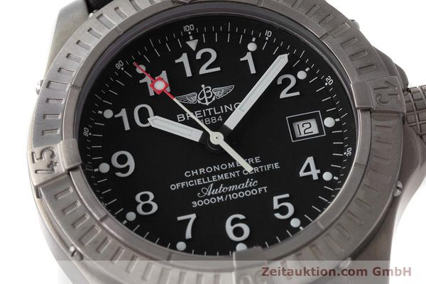 Used luxury watch Breitling Avenger titanium automatic Kal. ETA 2824-2 Ref. E17370  | 161351 02