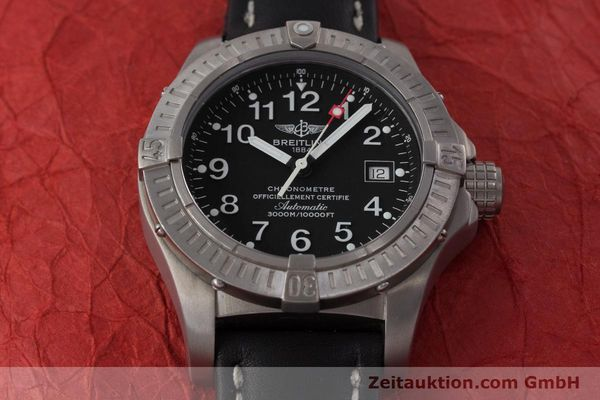 Used luxury watch Breitling Avenger titanium automatic Kal. ETA 2824-2 Ref. E17370  | 161351 16