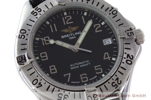 Used luxury watch Breitling Colt steel automatic Kal. ETA 2824-2 Ref. A17035  | 161354 02