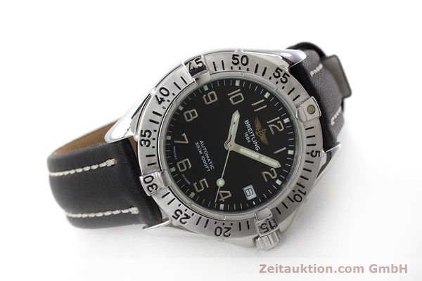 Used luxury watch Breitling Colt steel automatic Kal. ETA 2824-2 Ref. A17035  | 161354 03