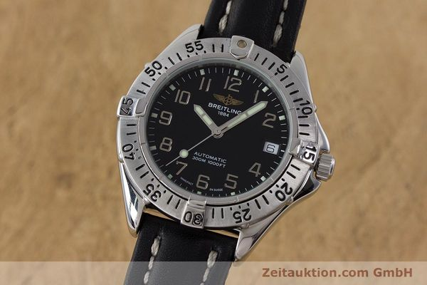 Used luxury watch Breitling Colt steel automatic Kal. ETA 2824-2 Ref. A17035  | 161354 04