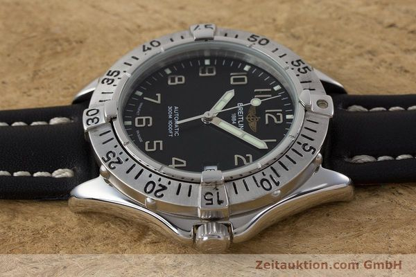 Used luxury watch Breitling Colt steel automatic Kal. ETA 2824-2 Ref. A17035  | 161354 05