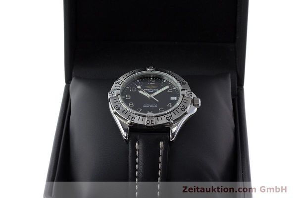 Used luxury watch Breitling Colt steel automatic Kal. ETA 2824-2 Ref. A17035  | 161354 07