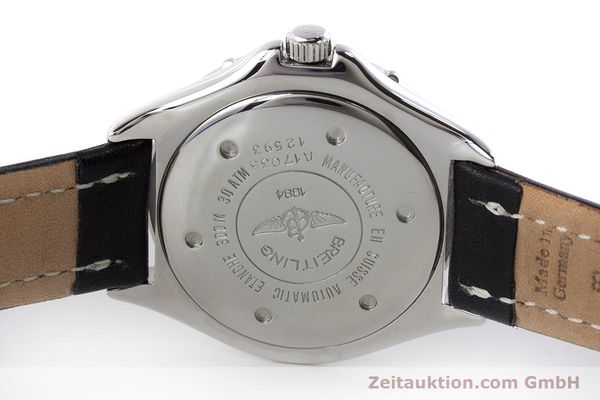Used luxury watch Breitling Colt steel automatic Kal. ETA 2824-2 Ref. A17035  | 161354 09