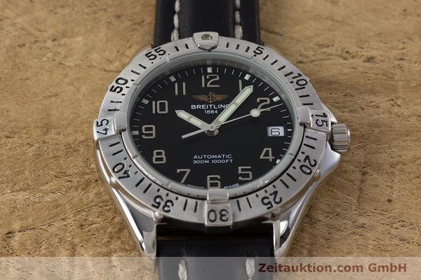 Used luxury watch Breitling Colt steel automatic Kal. ETA 2824-2 Ref. A17035  | 161354 14