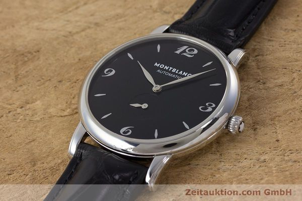 Used luxury watch Montblanc Star Classique steel automatic Kal. 4810 408 ETA2895-2 Ref. 7211  | 161356 01
