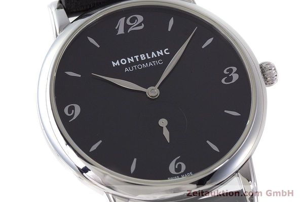 Used luxury watch Montblanc Star Classique steel automatic Kal. 4810 408 ETA2895-2 Ref. 7211  | 161356 02