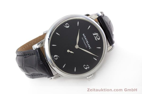 Used luxury watch Montblanc Star Classique steel automatic Kal. 4810 408 ETA2895-2 Ref. 7211  | 161356 03