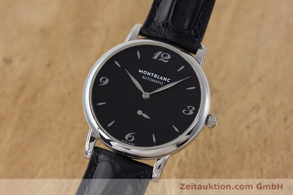 Used luxury watch Montblanc Star Classique steel automatic Kal. 4810 408 ETA2895-2 Ref. 7211  | 161356 04