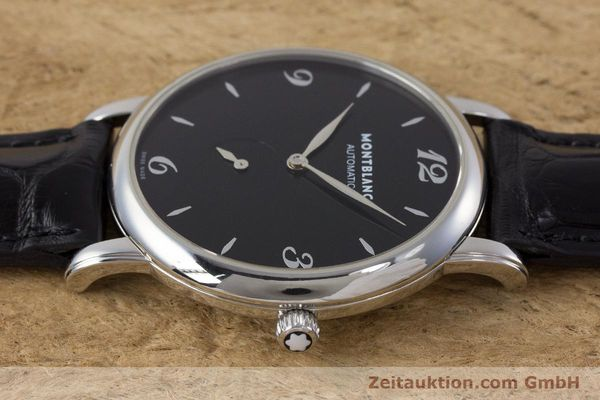 Used luxury watch Montblanc Star Classique steel automatic Kal. 4810 408 ETA2895-2 Ref. 7211  | 161356 05