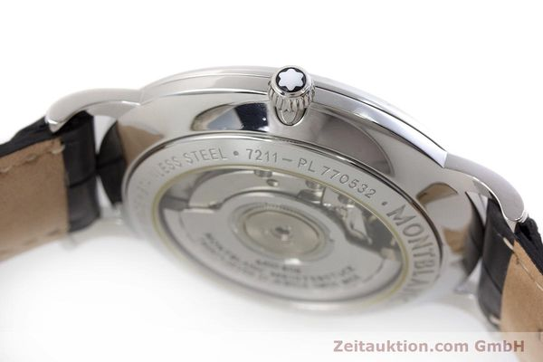 Used luxury watch Montblanc Star Classique steel automatic Kal. 4810 408 ETA2895-2 Ref. 7211  | 161356 08