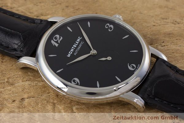 Used luxury watch Montblanc Star Classique steel automatic Kal. 4810 408 ETA2895-2 Ref. 7211  | 161356 13