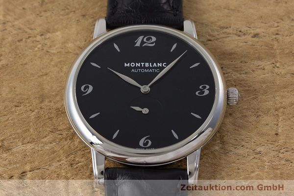 Used luxury watch Montblanc Star Classique steel automatic Kal. 4810 408 ETA2895-2 Ref. 7211  | 161356 14