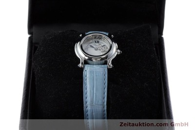 CHOPARD LADY HAPPY SPORT DIAMANTEN DAMENUHR EDELSTAHL 27/8250-23 VP: 5055,- EURO [161361]