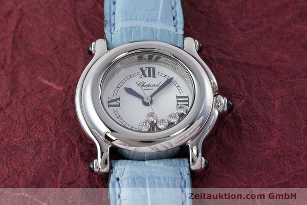 Used luxury watch Chopard Happy Sport steel quartz Kal. ETA 956.102 Ref. 27/8250-23  | 161361 12
