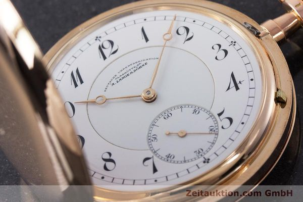 Used luxury watch A. Lange & Söhne DUF 14 ct red gold manual winding Kal. 43  | 161364 02