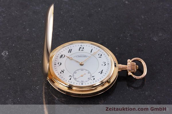 Used luxury watch A. Lange & Söhne DUF 14 ct red gold manual winding Kal. 43  | 161364 15