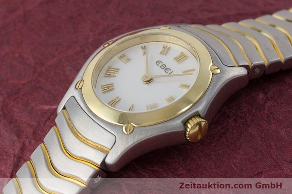 Used luxury watch Ebel Classic Wave steel / gold quartz Kal. 157 Ref. 1157F11  | 161365 01