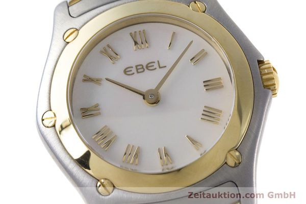 Used luxury watch Ebel Classic Wave steel / gold quartz Kal. 157 Ref. 1157F11  | 161365 02