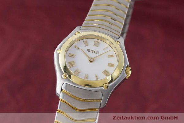 EBEL CLASSIC WAVE STEEL / GOLD QUARTZ KAL. 157 LP: 2850EUR [161365]
