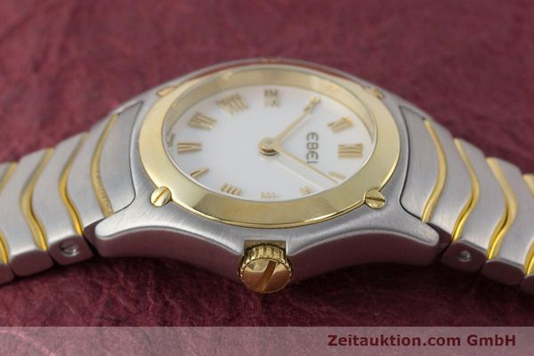 Used luxury watch Ebel Classic Wave steel / gold quartz Kal. 157 Ref. 1157F11  | 161365 05