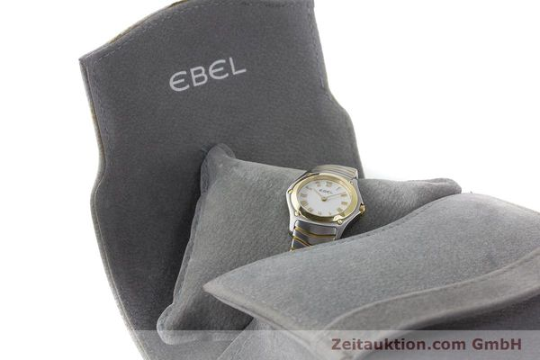 Used luxury watch Ebel Classic Wave steel / gold quartz Kal. 157 Ref. 1157F11  | 161365 07