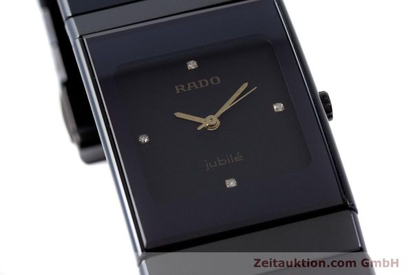 Used luxury watch Rado Diastar Ceramica ceramic / steel quartz Kal. ETA 980.103 Ref. 205.0295.3  | 161371 02