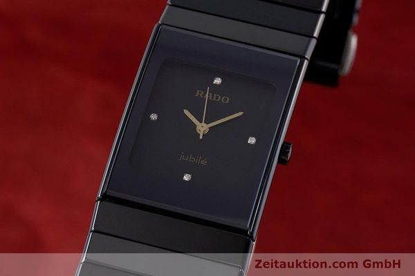 Used luxury watch Rado Diastar Ceramica ceramic / steel quartz Kal. ETA 980.103 Ref. 205.0295.3  | 161371 04