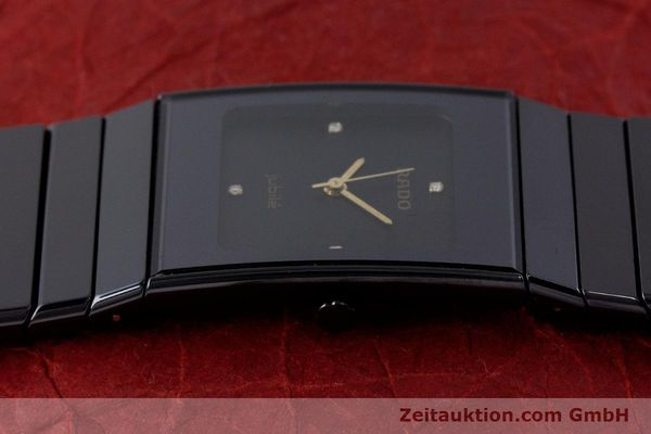 Used luxury watch Rado Diastar Ceramica ceramic / steel quartz Kal. ETA 980.103 Ref. 205.0295.3  | 161371 05