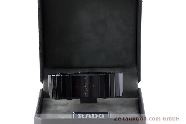 Used luxury watch Rado Diastar Ceramica ceramic / steel quartz Kal. ETA 980.103 Ref. 205.0295.3  | 161371 07