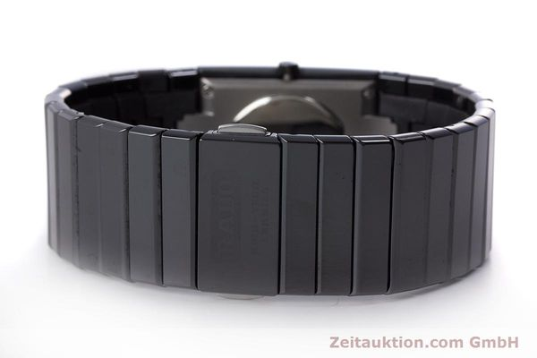 Used luxury watch Rado Diastar Ceramica ceramic / steel quartz Kal. ETA 980.103 Ref. 205.0295.3  | 161371 10