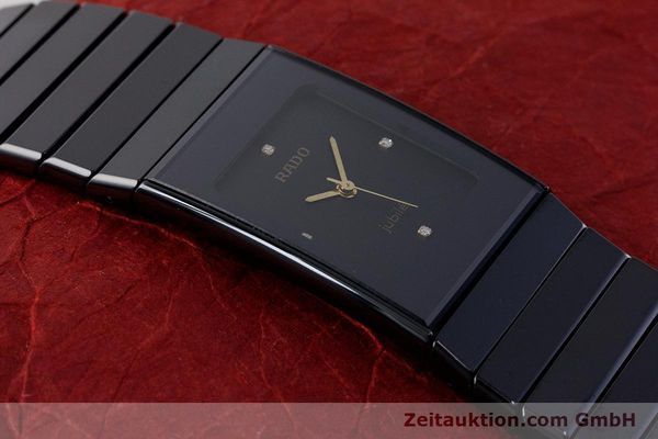 Used luxury watch Rado Diastar Ceramica ceramic / steel quartz Kal. ETA 980.103 Ref. 205.0295.3  | 161371 13